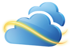 Windows Live SkyDrive logo.